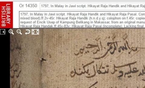 Hikayat Raja Handik and Hikayat Raja Pasai
