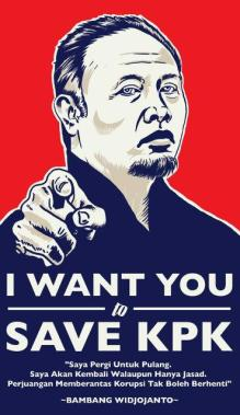 I want you to save KPK