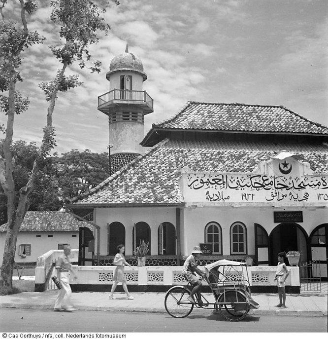 Mesjid Cikini Raden Saleh Jakarta 1947