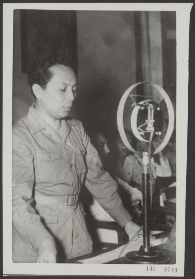 25 February 1947 PM Sutan Sjahrir Malang KNIP Session