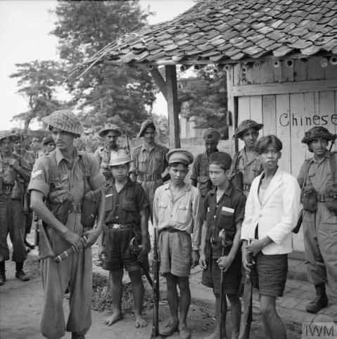 Indian Troops in Bekasi 1945