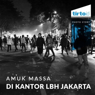Amuk Massa Di Kantor LBH Jakarta