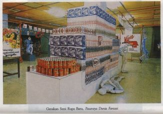 New Art Movement Exhibition 1987 Project 1: Supermarket Fantasy World Supermarket