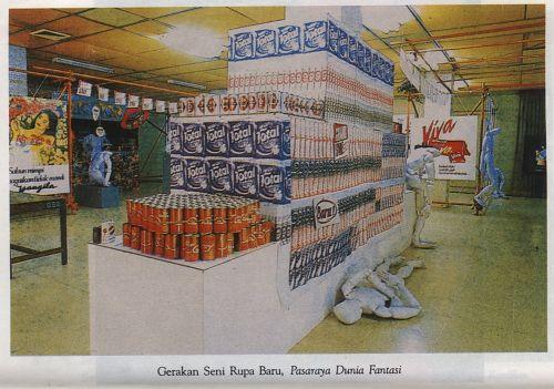 New Art Movement Exhibition 1987 Project 1: Supermarket Fantasy World Supermarket