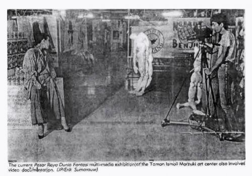 New Art Movement Exhibition 1987 Project 1: Supermarket Fantasy World Documentation