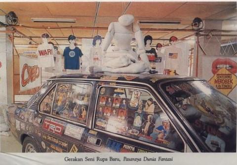 New Art Movement Exhibition 1987 Project 1: Supermarket Fantasy World Sticker Car
