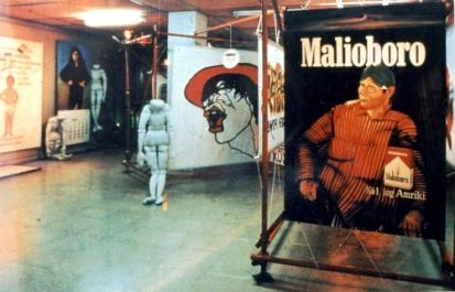 "New Art Movement Exhibition 1987, Project 1: Supermarket Fantasy World ""No 1 in America"""
