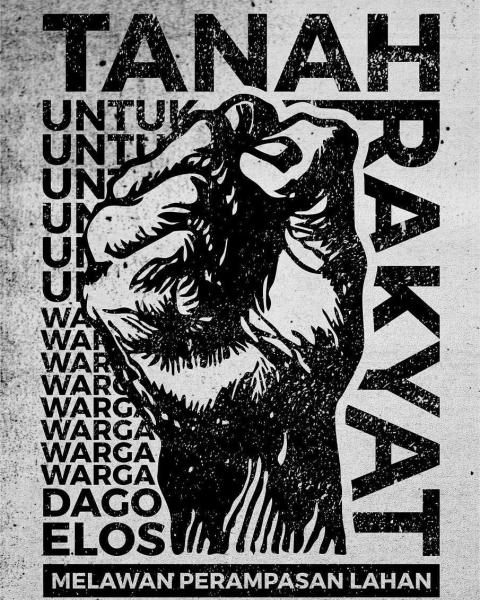 Tanganku Mengepal: The People's Land, Resist Land Theft