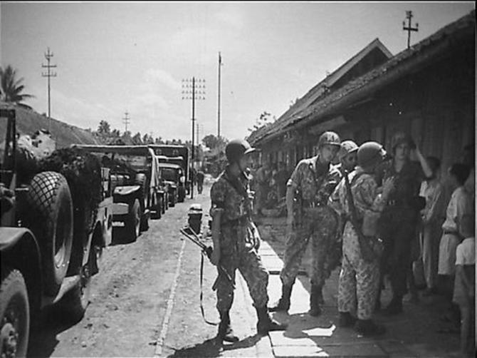 Karawang sector, 23 July 1947