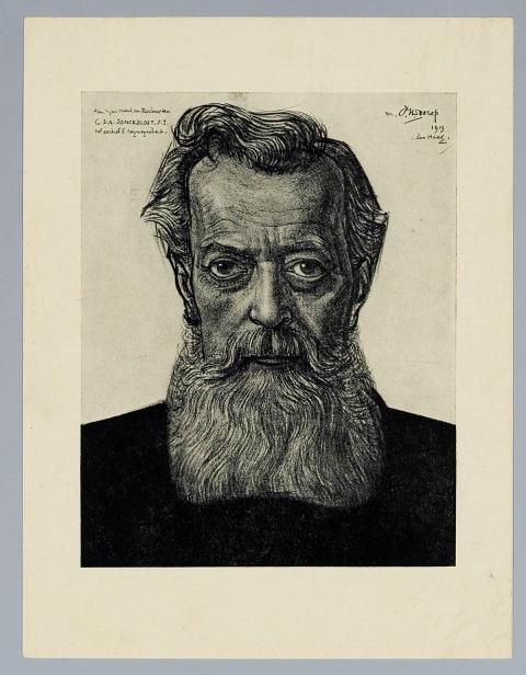 Portret van G.D.A. Jonckbloet, S.J.