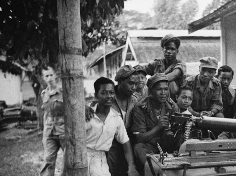 Detachement op Borneo Hoeloe Soengai, 28 Februari 1949