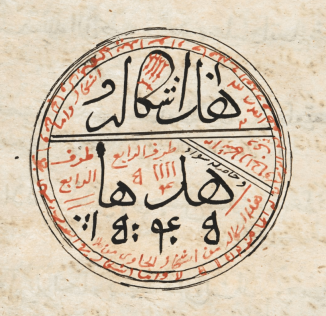 Arabic text with interlinear translation in Javanese